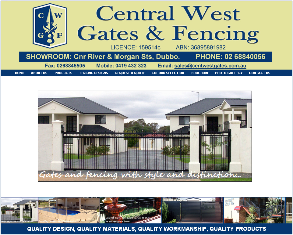 Central West Gates and Fencing